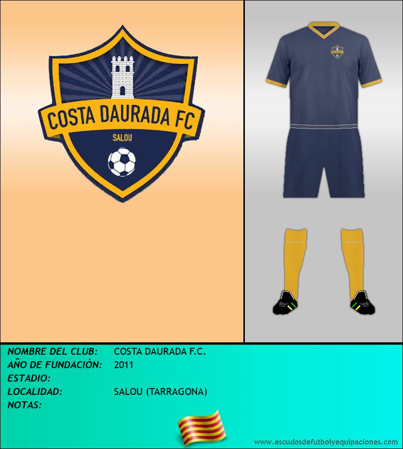 Escudo de COSTA DAURADA F.C.
