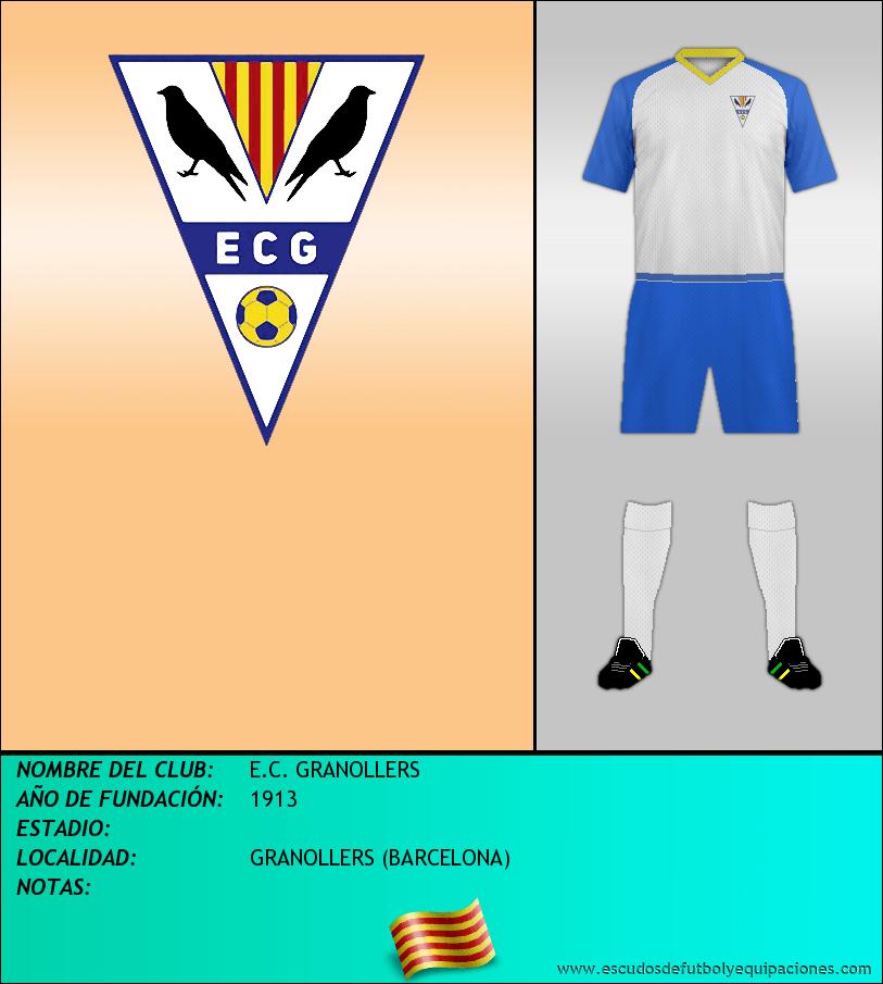 Escudo de E.C. GRANOLLERS