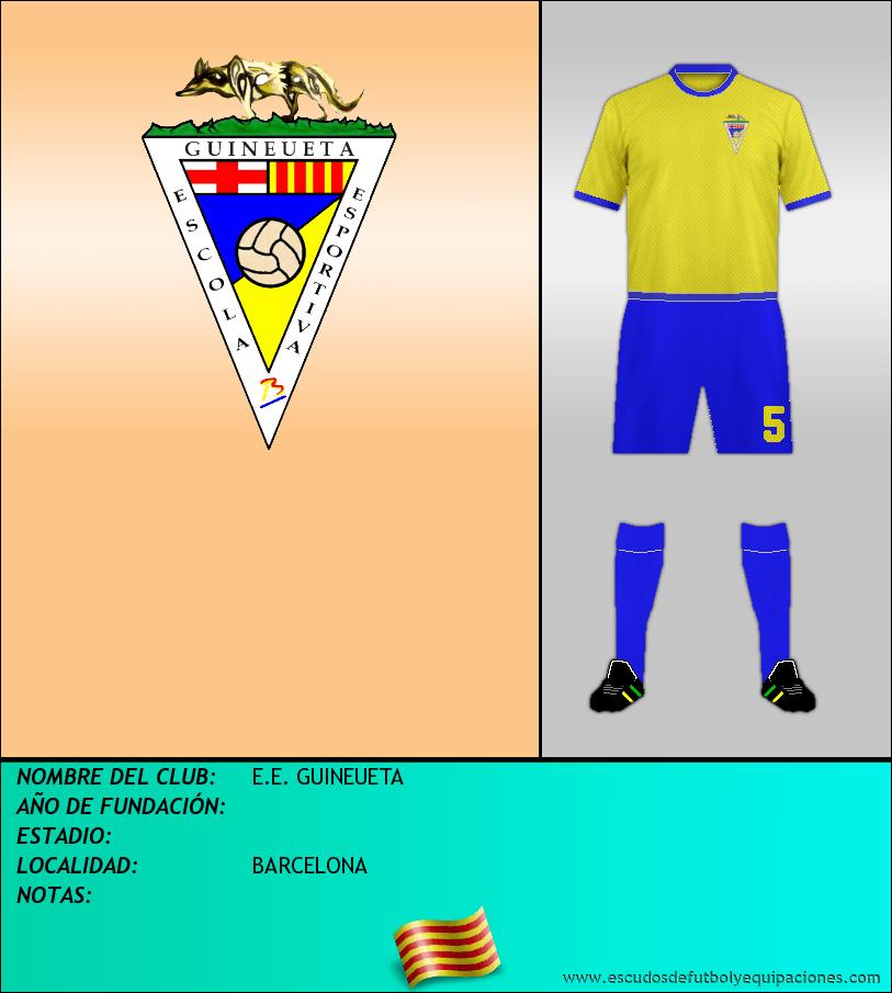 Escudo de E.E. GUINEUETA