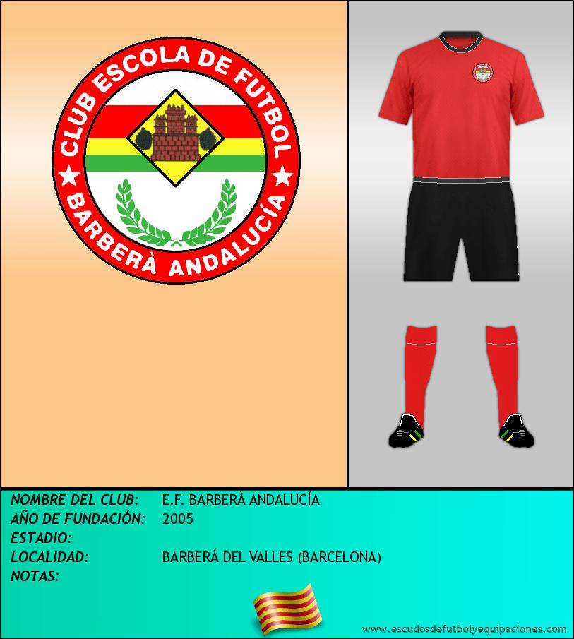 Escudo de E.F. BARBERÀ ANDALUCÍA