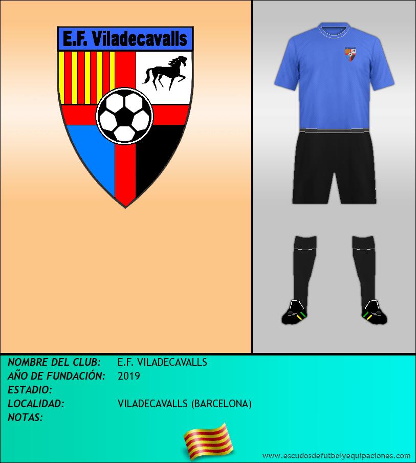 Escudo de E.F. VILADECAVALLS