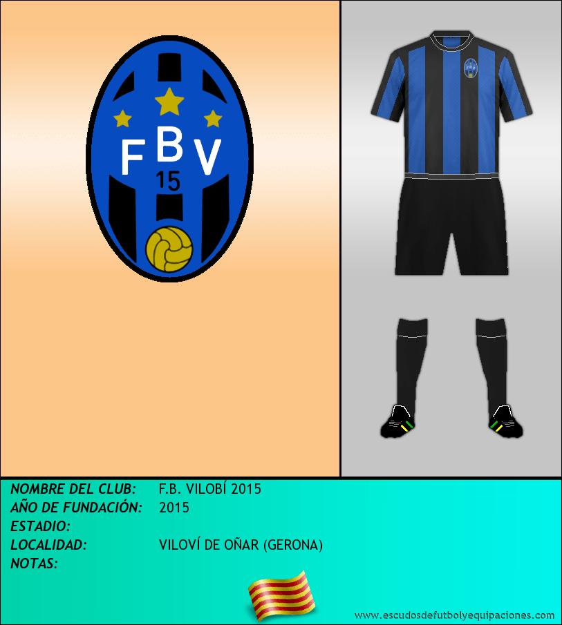 Escudo de F.B. VILOBÍ 2015