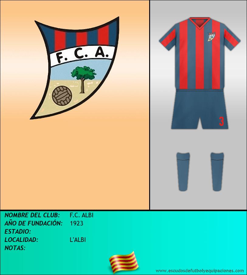 Escudo de F.C. ALBI