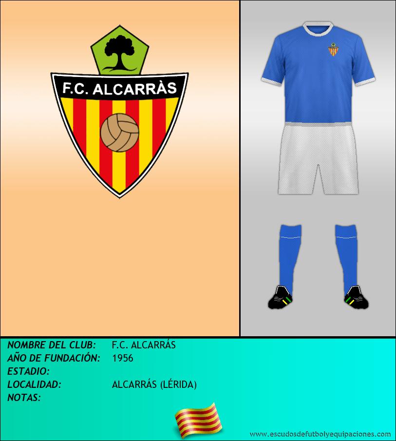 Escudo de F.C. ALCARRÁS