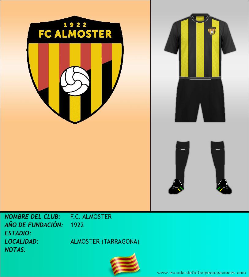 Escudo de F.C. ALMOSTER