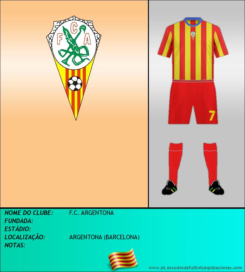 Escudo de F.C. ARGENTONA