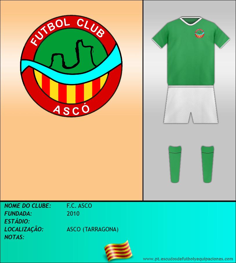 Escudo de F.C. ASCO