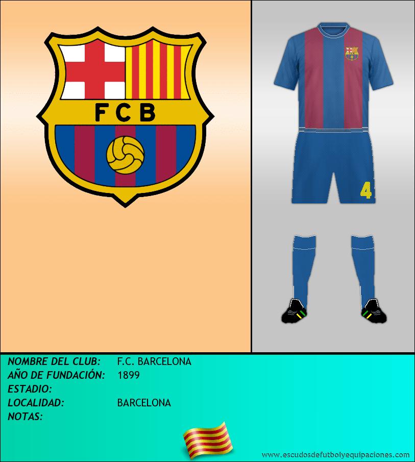 Escudo de F.C. BARCELONA