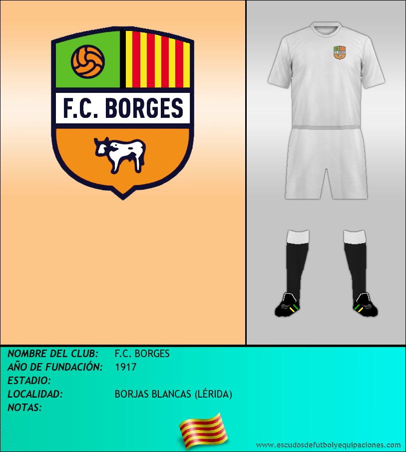 Escudo de F.C. BORGES