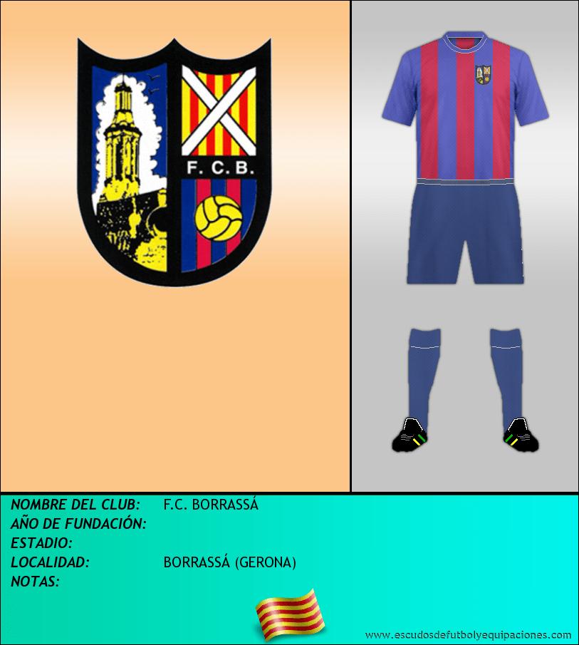 Escudo de F.C. BORRASSÁ