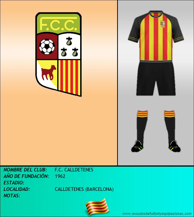 Escudo de F.C. CALLDETENES