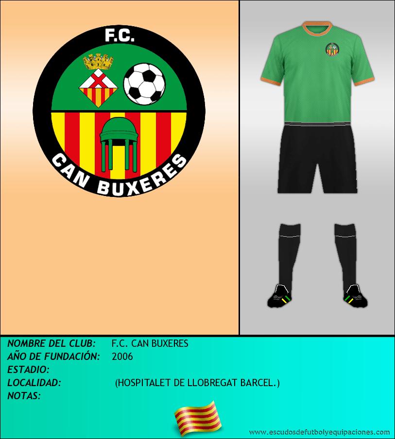 Escudo de F.C. CAN BUXERES