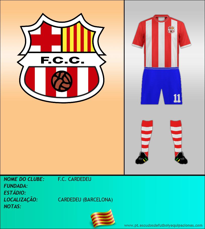 Escudo de F.C. CARDEDEU