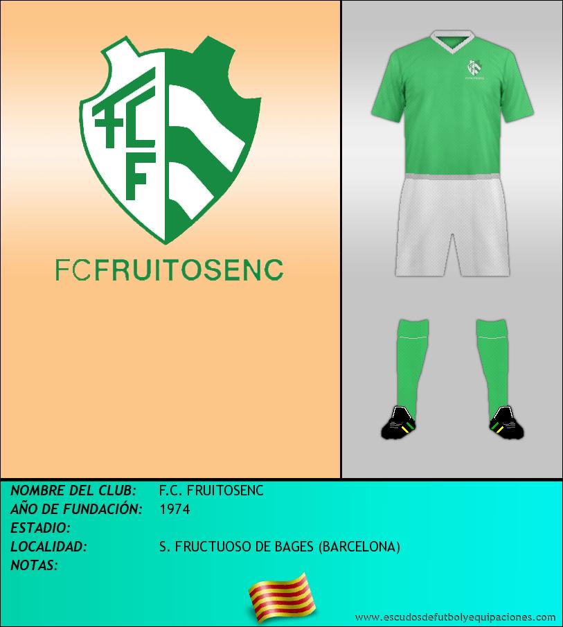 Escudo de F.C. FRUITOSENC