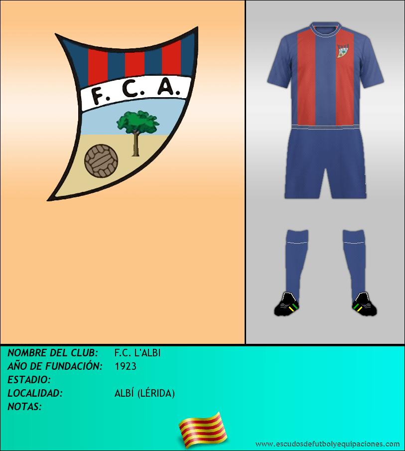 Escudo de F.C. L'ALBI