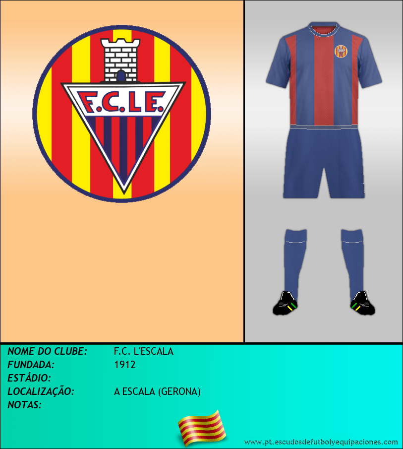 Escudo de F.C. L'ESCALA