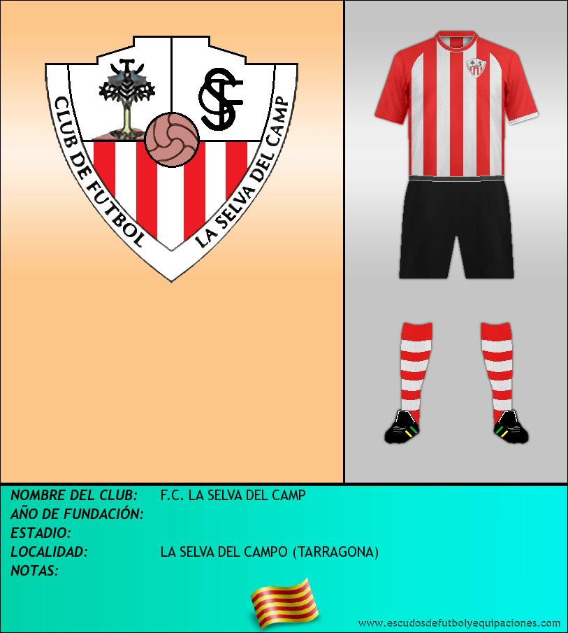Escudo de F.C. LA SELVA DEL CAMP