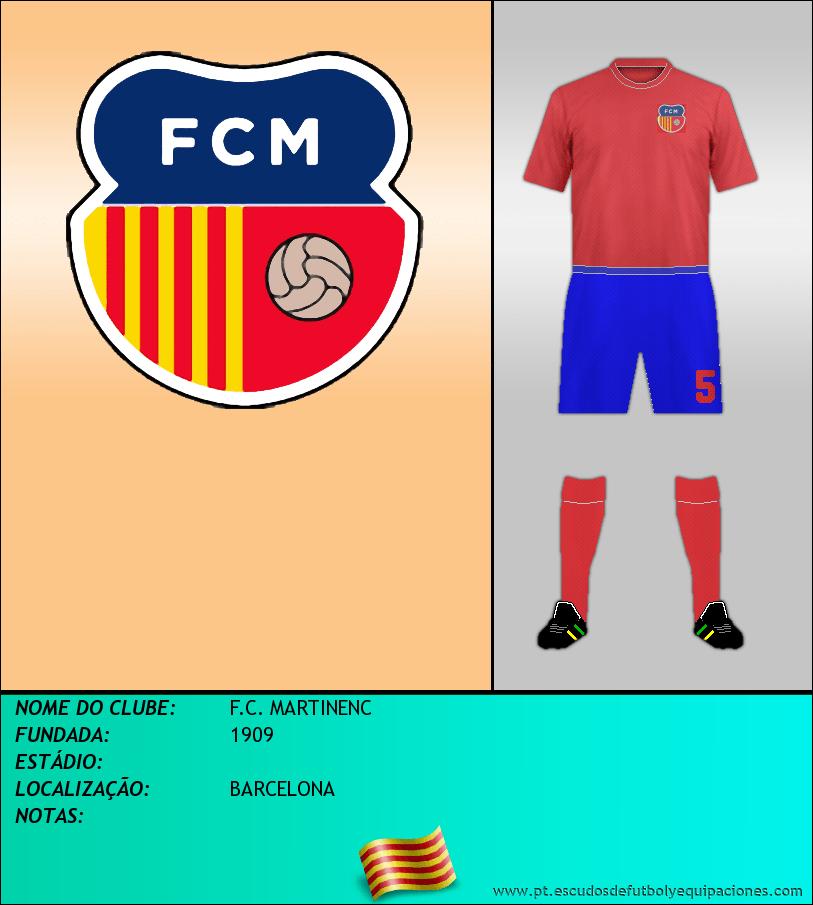 Escudo de F.C. MARTINENC