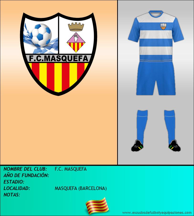 Escudo de F.C. MASQUEFA
