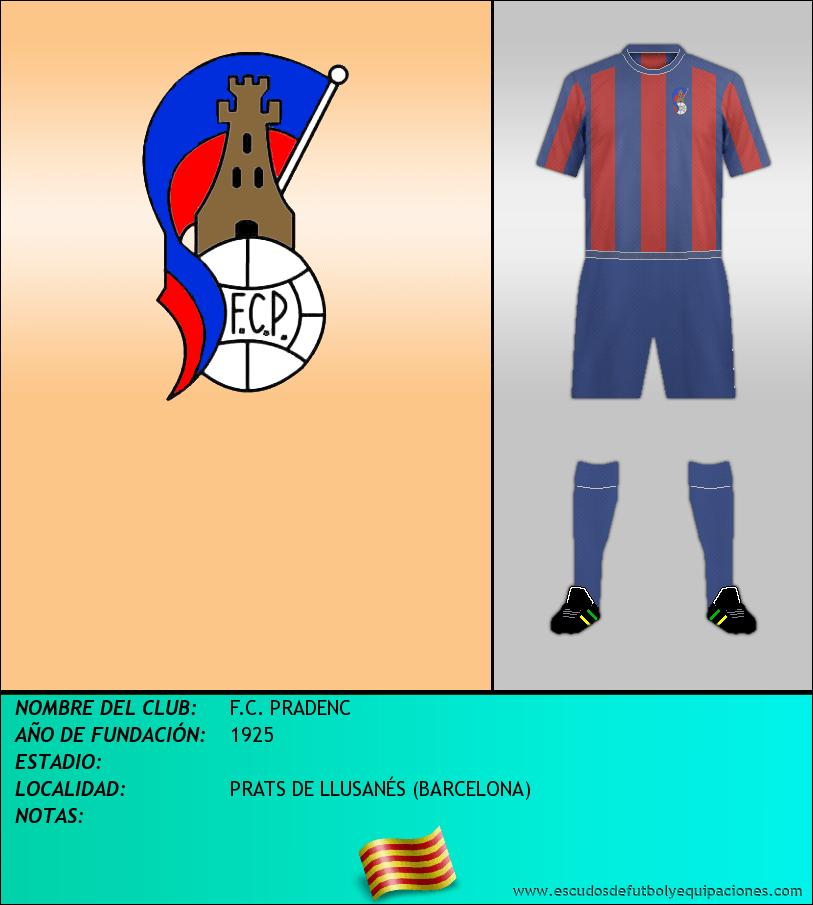 Escudo de F.C. PRADENC