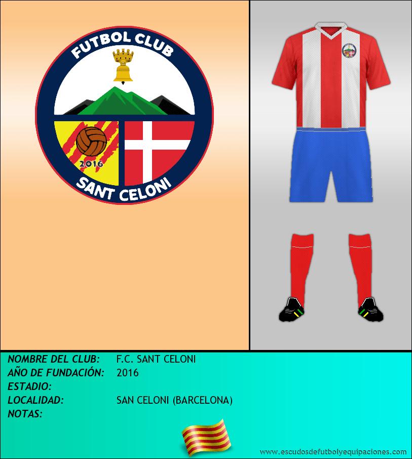 Escudo de F.C. SANT CELONI