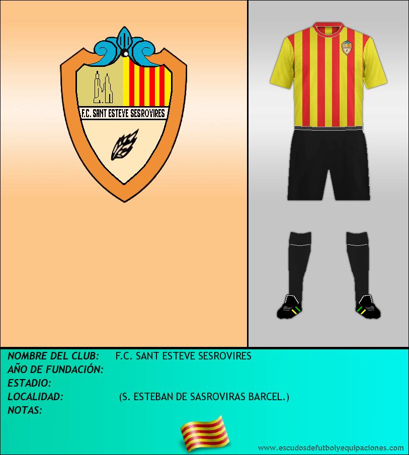 Escudo de F.C. SANT ESTEVE SESROVIRES