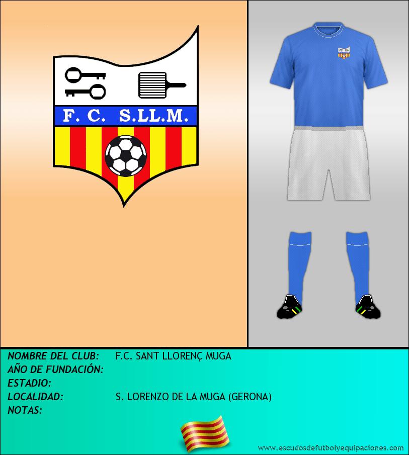 Escudo de F.C. SANT LLORENÇ MUGA