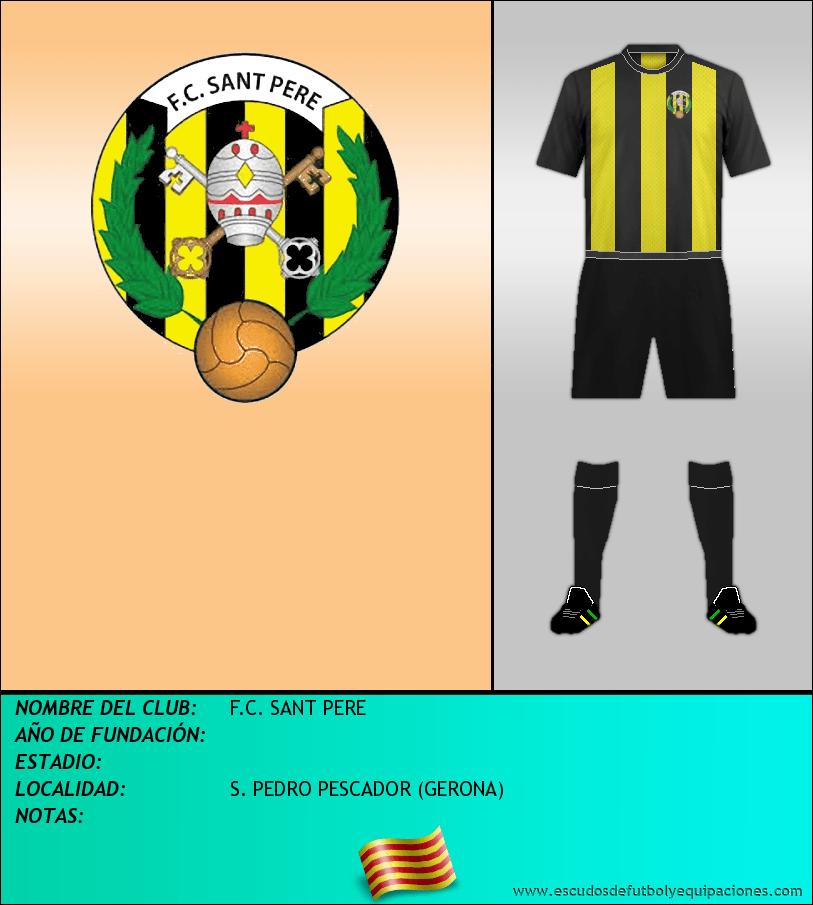 Escudo de F.C. SANT PERE