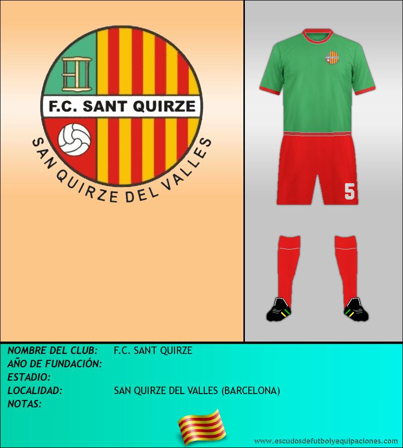 Escudo de F.C. SANT QUIRZE