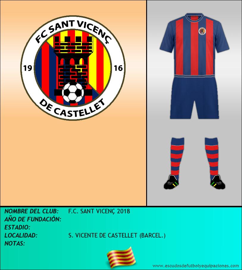 Escudo de F.C. SANT VICENÇ 2018