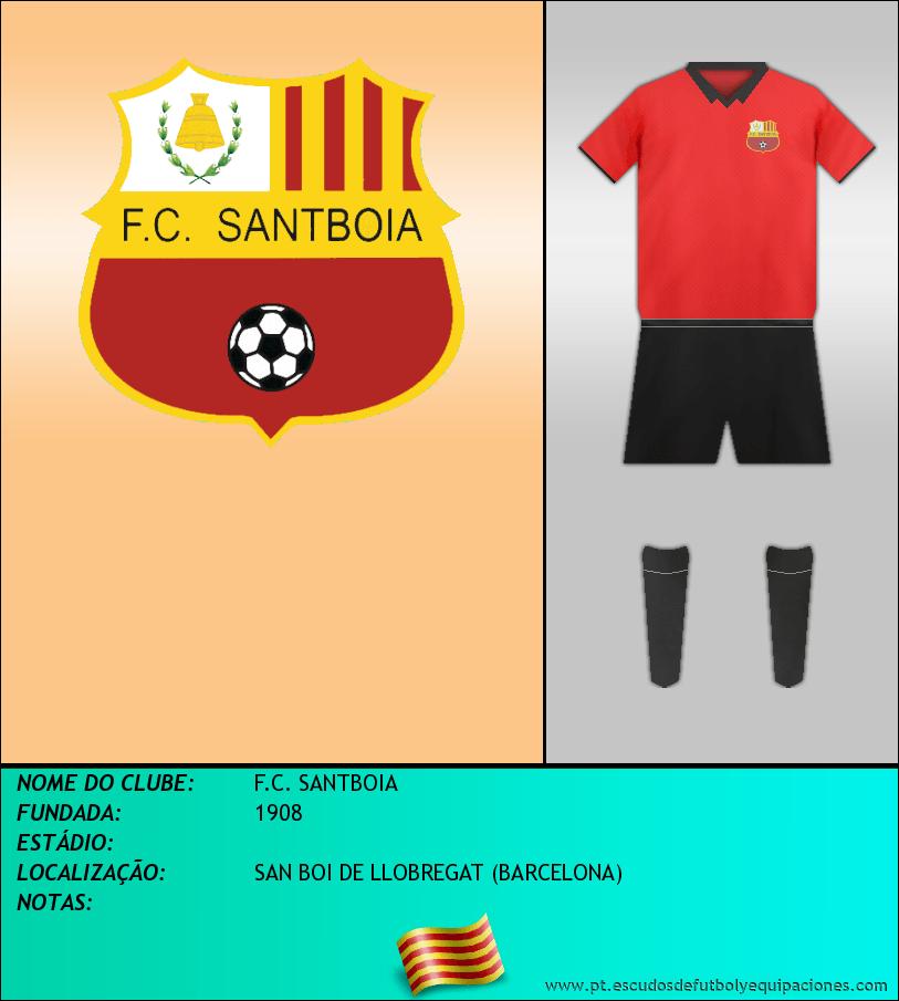 Escudo de F.C. SANTBOIA