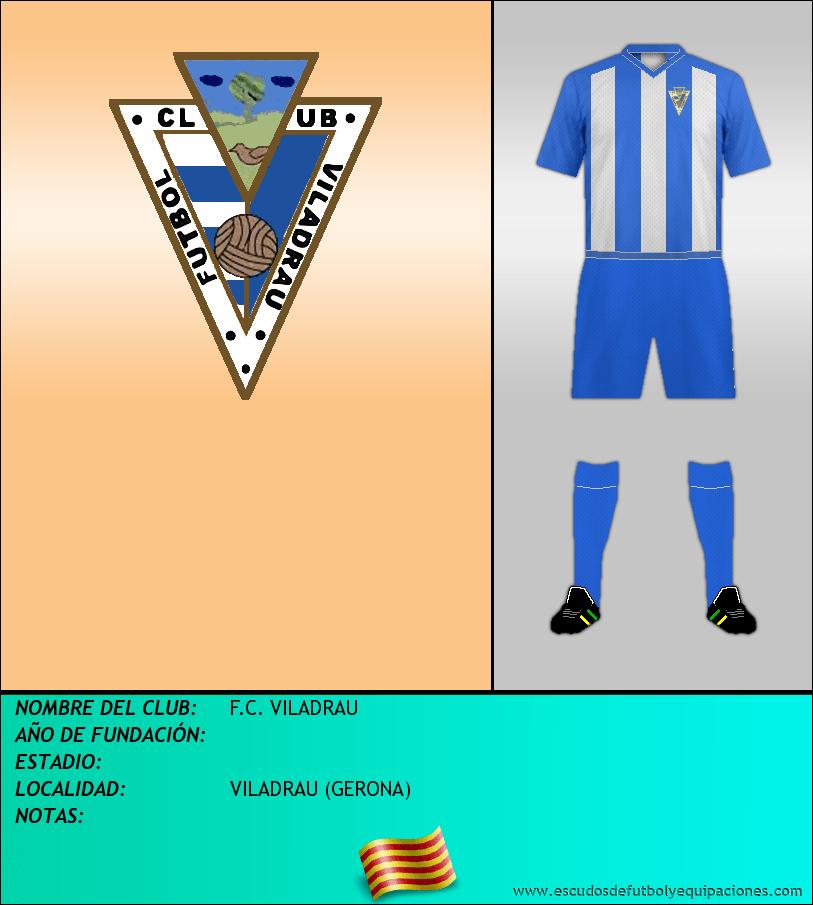 Escudo de F.C. VILADRAU
