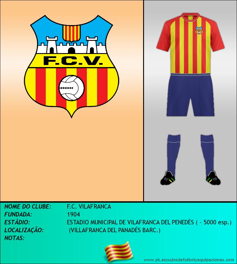 Escudo de F.C. VILAFRANCA