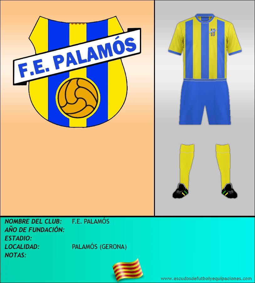 Escudo de F.E. PALAMÓS