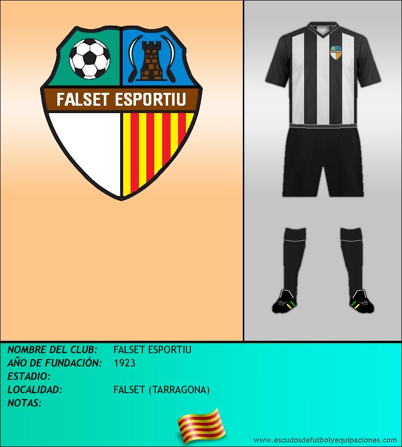 Escudo de FALSET ESPORTIU