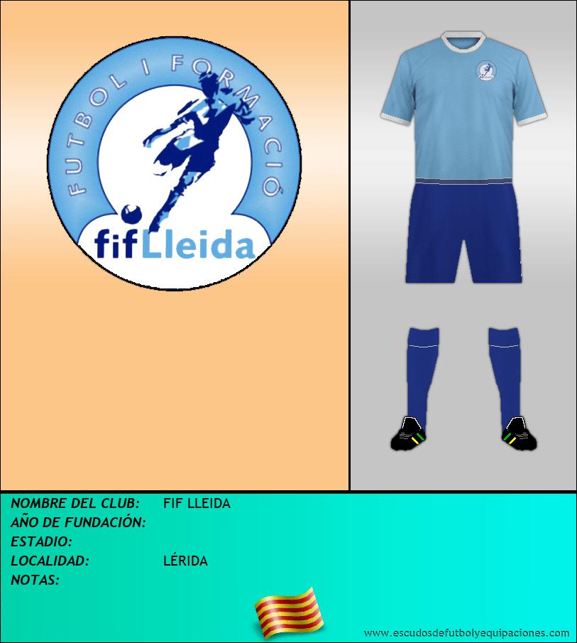 Escudo de FIF LLEIDA