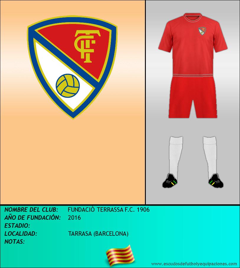 Escudo de FUNDACIÒ TERRASSA F.C. 1906
