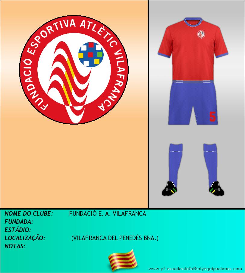 Escudo de FUNDACIÓ E. A. VILAFRANCA