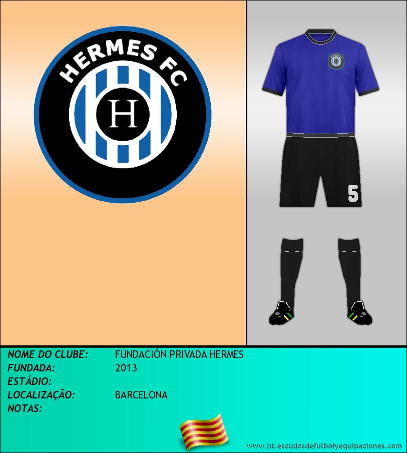 Escudo de FUNDACIÓN PRIVADA HERMES