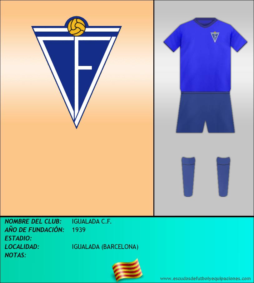 Escudo de IGUALADA C.F.