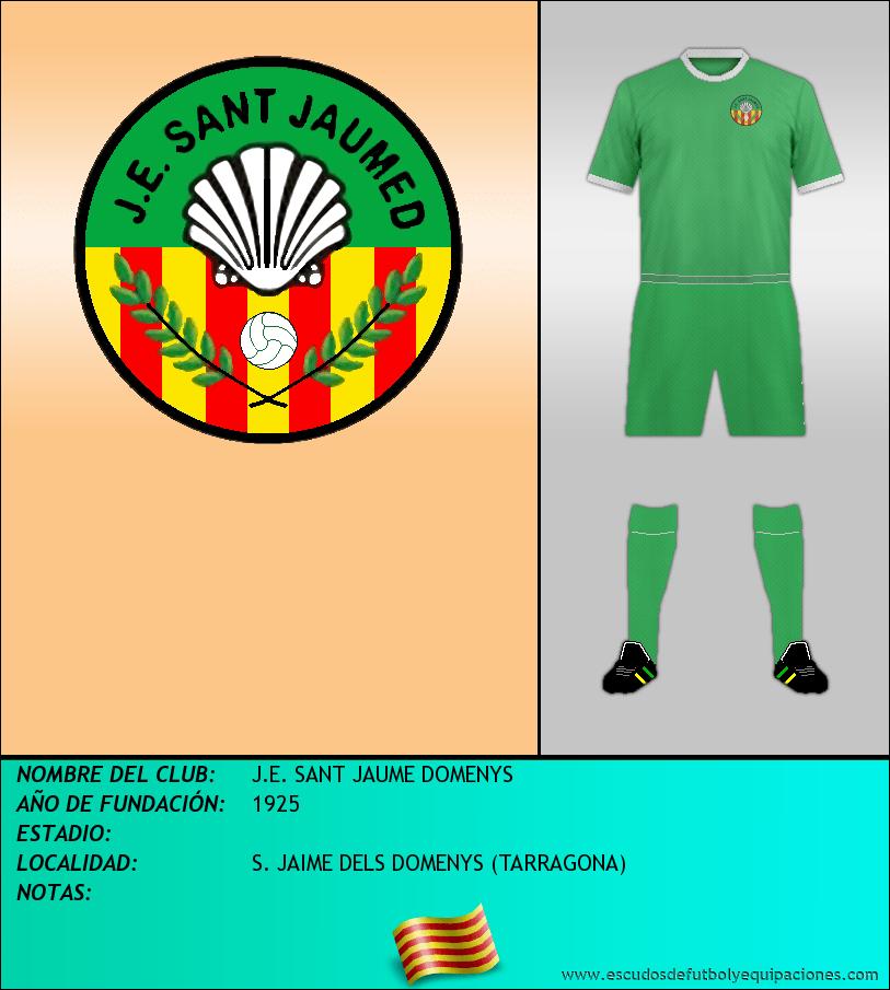 Escudo de J.E. SANT JAUME DOMENYS