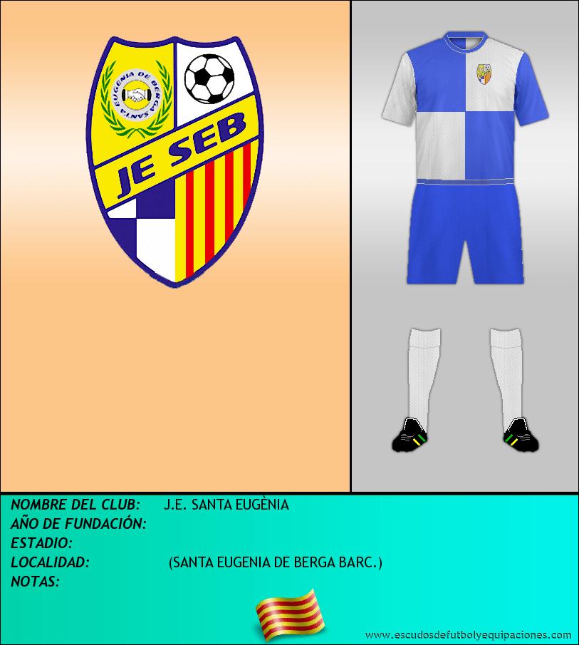 Escudo de J.E. SANTA EUGÈNIA