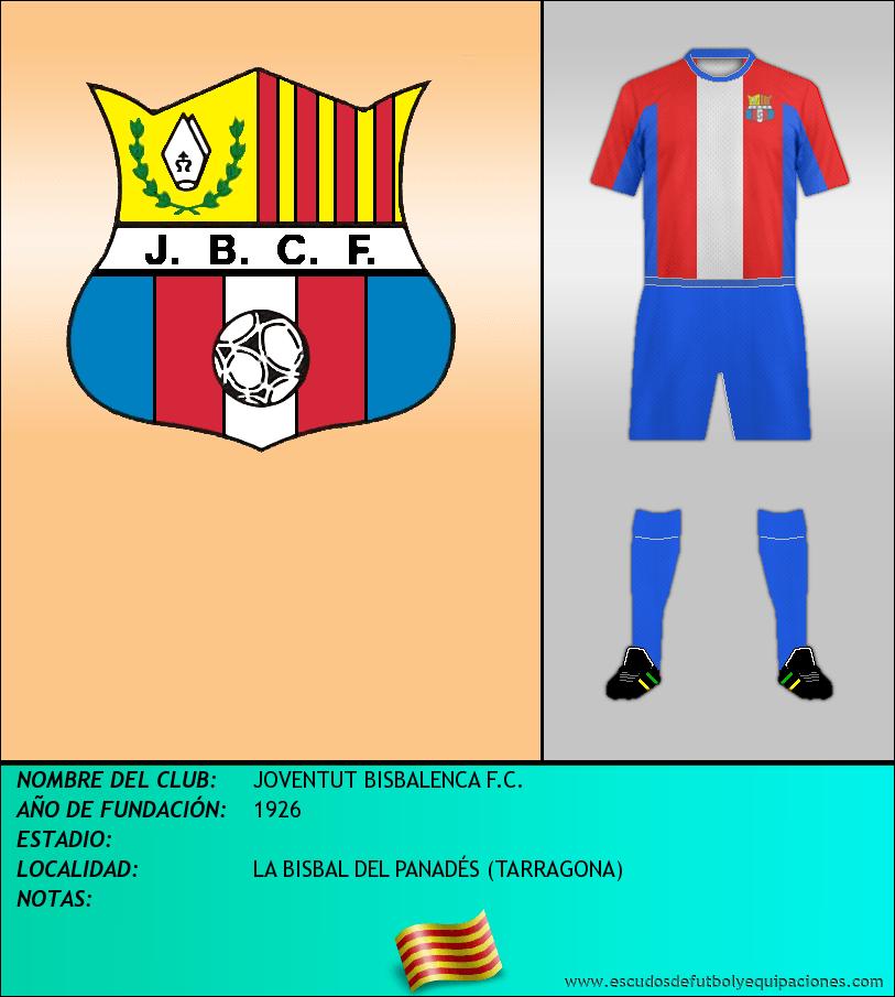 Escudo de JOVENTUT BISBALENCA F.C.