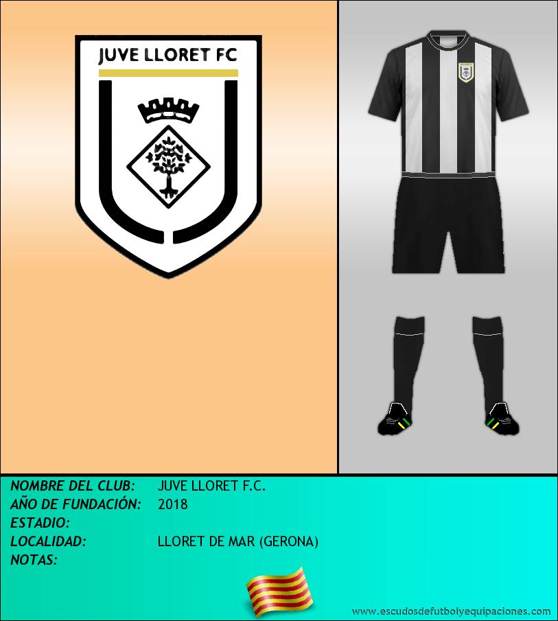 Escudo de JUVE LLORET F.C.