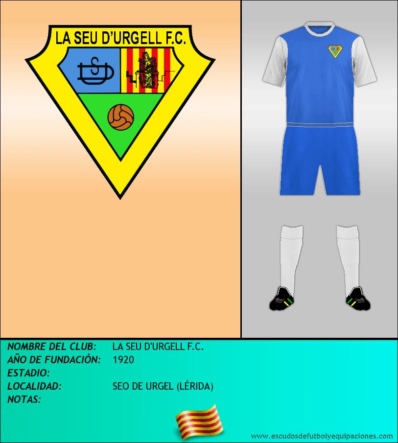 Escudo de LA SEU D'URGELL F.C.