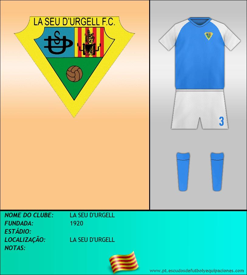 Escudo de LA SEU D'URGELL