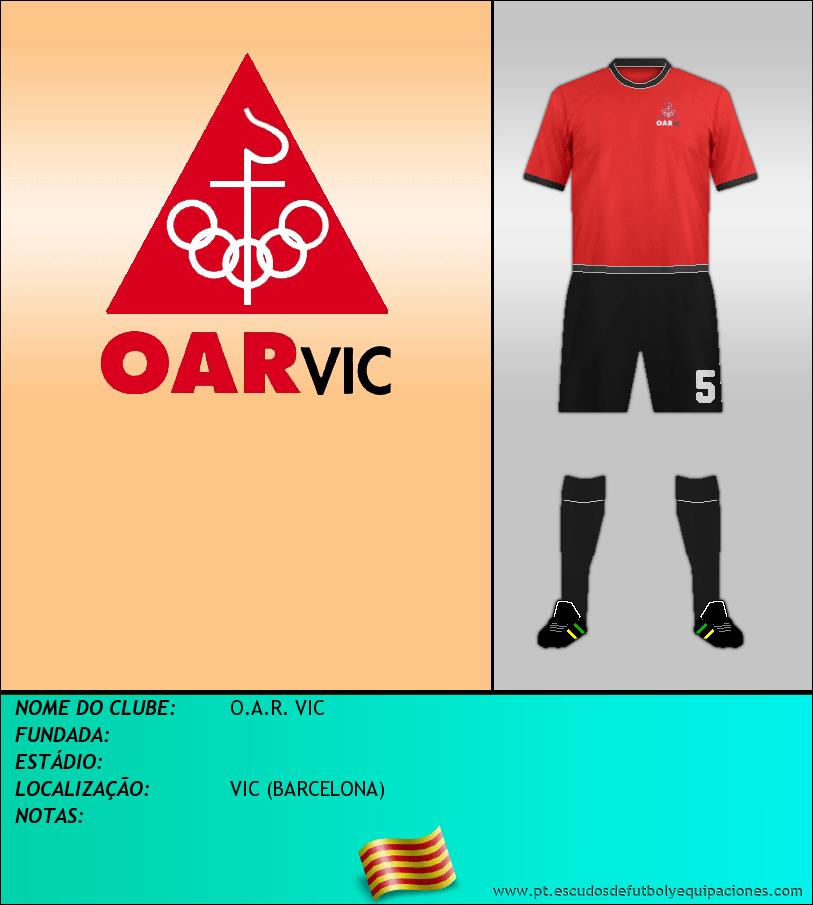 Escudo de O.A.R. VIC