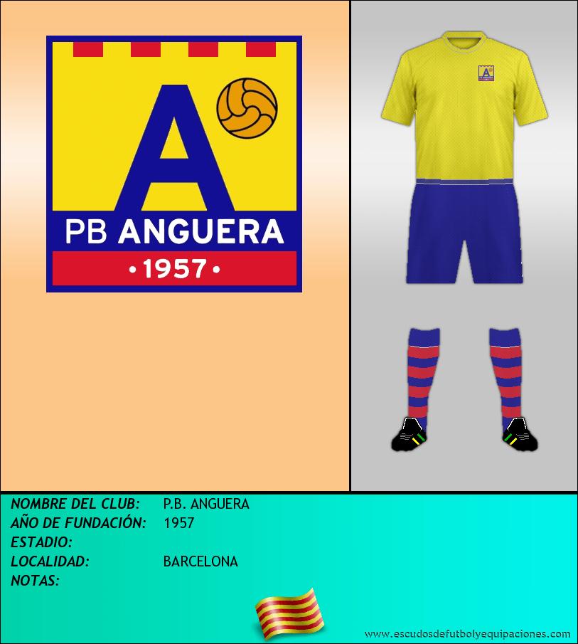 Escudo de P.B. ANGUERA