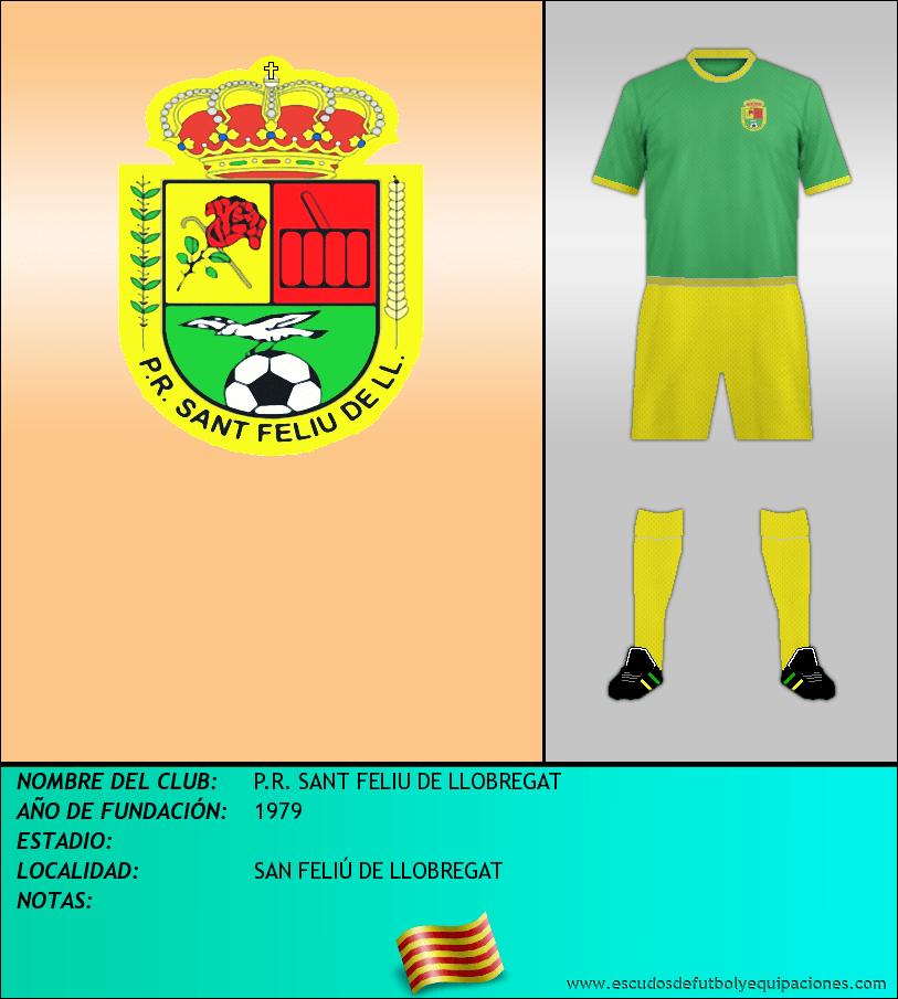 Escudo de P.R. SANT FELIU DE LLOBREGAT