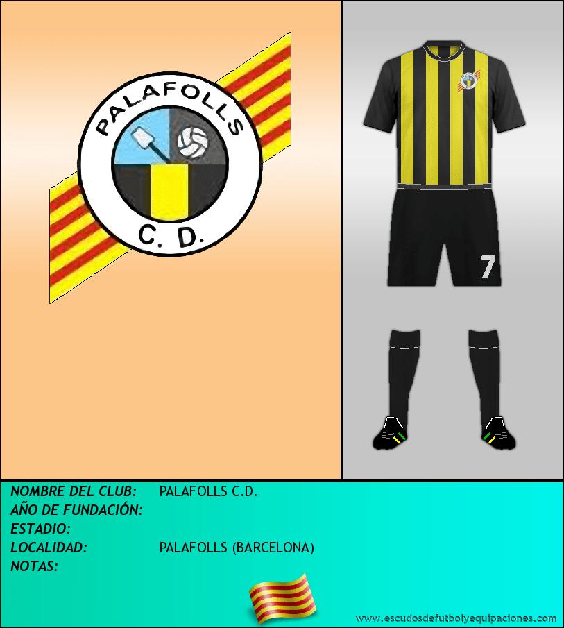 Escudo de PALAFOLLS C.D.